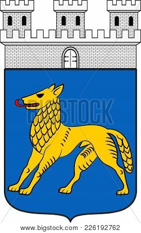 Coat Of Arms Of Hilchenbach Is A Town In The Siegen-wittgenstein District Of North Rhine-westphalia,