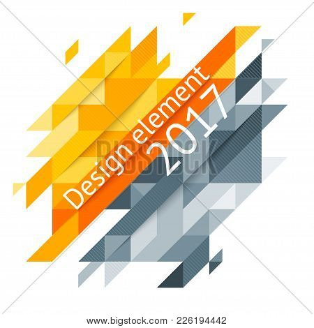 Minimalistic Design, Creative Concept, Modern Diagonal Abstract Background Geometric Element. Red, O