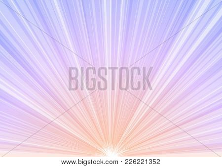 Pastel Abstract Explode Aura Background, Stripe Layer Bloom, Fantasy Multicolor Transparent Backdrop