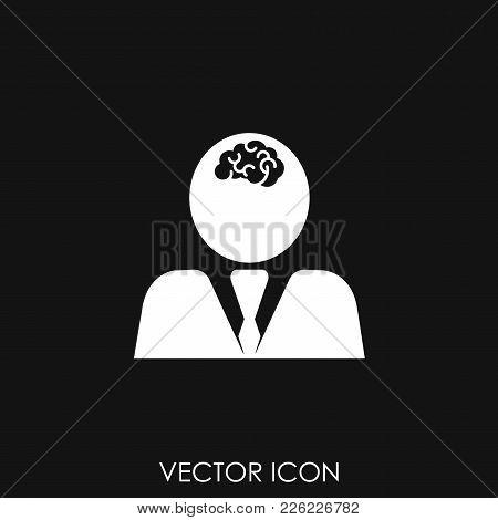 Brainstorming Icon Vector, Vector Icon Illustration, Icon Image