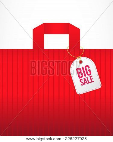 Big Shopping Sale. Discount, Promotion, Buying. Marketing Concept. Can Be Used For Greeting Cards, P
