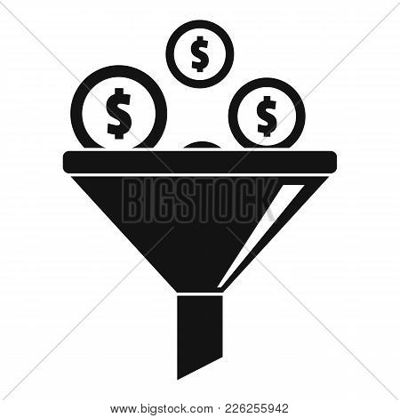 Investment Icon. Simple Illustration Of Investment Vector Icon For Web
