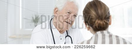 Professional Senior Doctor