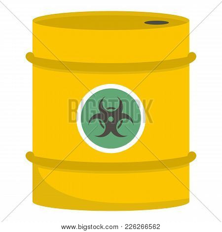 Barrel Icon. Cartoon Illustration Of Barrel Vector Icon For Web