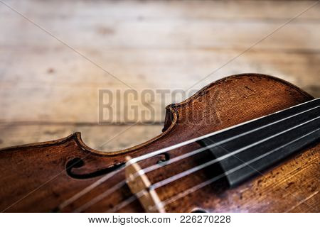 One Wooden Old Fiddle
