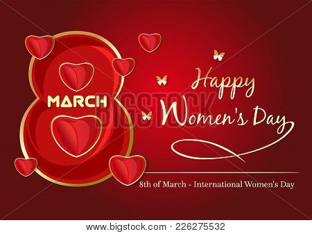 Background Template For International Womans Day