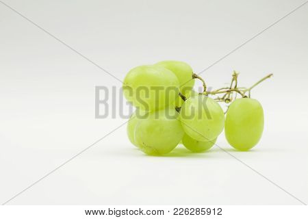 Wein Traube Vitamine Frisch Obst Freisteller Hintergrund