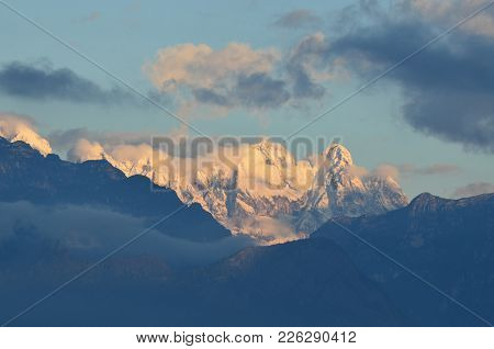 Breathtaking Beautiful Snow Capped Mountains In Italy