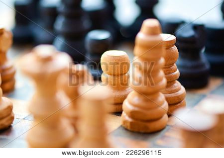 Chessboard. The Smallest Component Could Be As Important As The Biggest One. Motivation