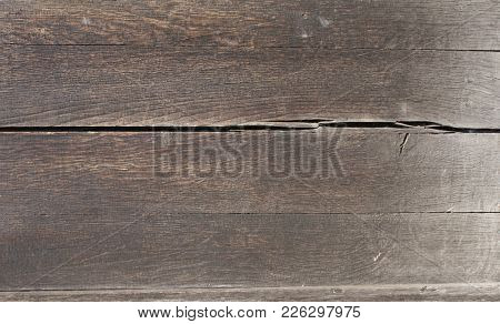 Texture of old wooden boards of brown colors