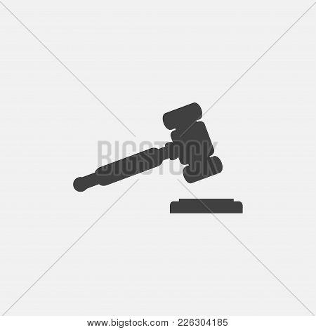 Hummer Icon Vector Illustration. Judge Icon Vector