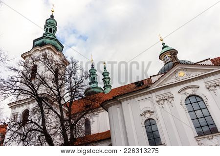 The Basilica Of The Assumption Of Our Lady In Strahov Monastery, Prague, Czech Republic