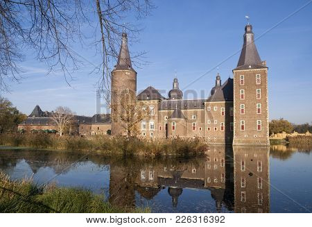 The Medieval Castle Hoensbroek In The Dutch Town Of The Same Name Is One Of The Largest Castles In T