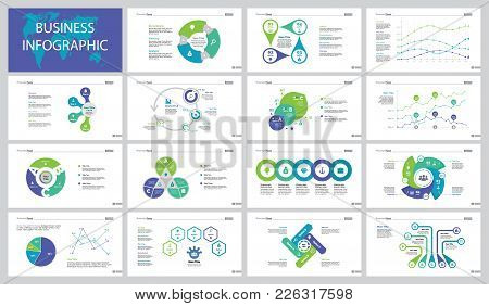 Infographic Design Set Can Be Used For Workflow Layout, Presentation, Annual Report, Web Design. Str