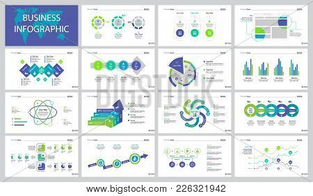 Infographic Design Set Can Be Used For Workflow Layout, Presentation, Annual Report. Analytics And S