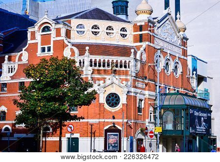 The Grand Opera House In Belfast, Northern Ireland, Oct. 16, 2016. It Is A Famous Theatre Designed B