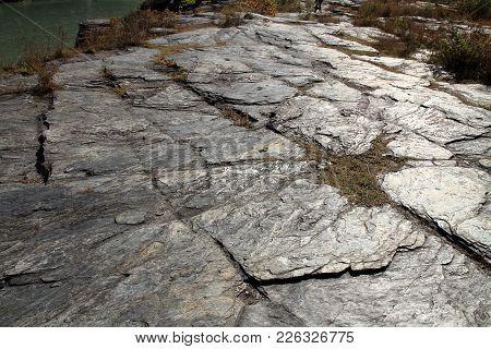Rock Formation In Nagatoro, Saitama, Japan