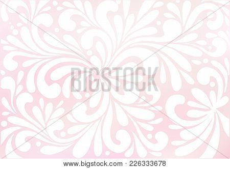 Abstract Mesh Background In Pastel Colors. Colorful Smooth Banner Template. Vector Background.