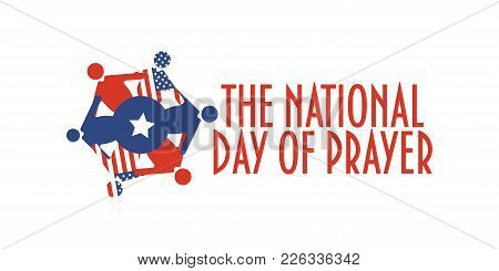 Vector Banner For The National Day Of Prayer, An Annual Day Of Observance Designated By The United S