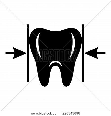 Good Tooth Icon. Simple Illustration Of Good Tooth Vector Icon For Web