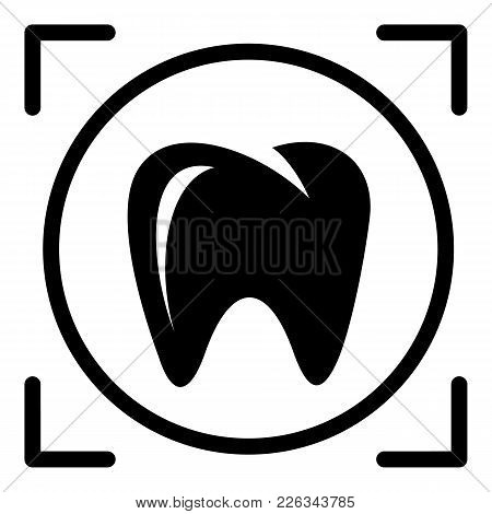 One Tooth Icon. Simple Illustration Of One Tooth Vector Icon For Web
