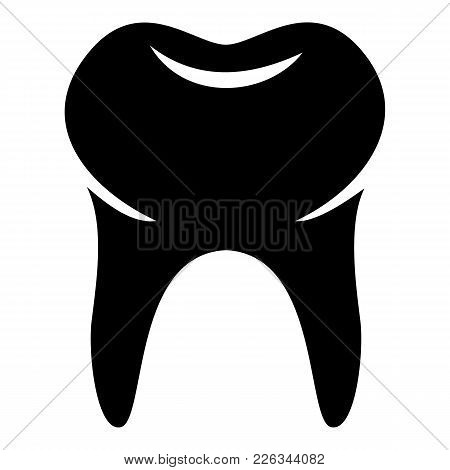 Wisdom Tooth Icon. Simple Illustration Of Wisdom Tooth Vector Icon For Web