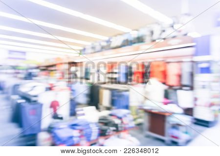 Blurred Abstract Apparel, Accessories For Golfer And Tennis Player