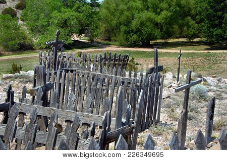 Early New Mexican Cemetery