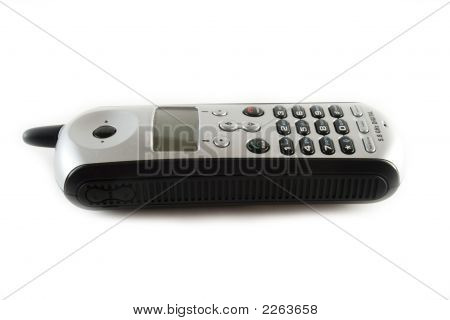 A  Cordless Phone Isolated