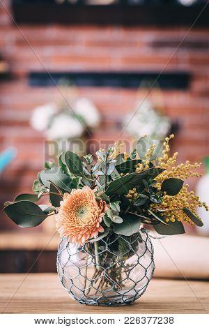 Spring Flower Bouquet Arrangement From Floristic Shop