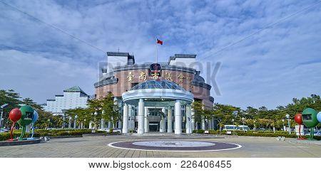 Tainan, Taiwan - November 3, 2017: Tainan City Hall On 3 November 2017 In Tainan, Taiwan. City Hall