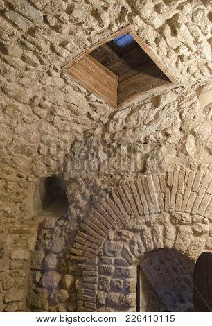 Vew Of The Prison Cell Where Cagliostro Died