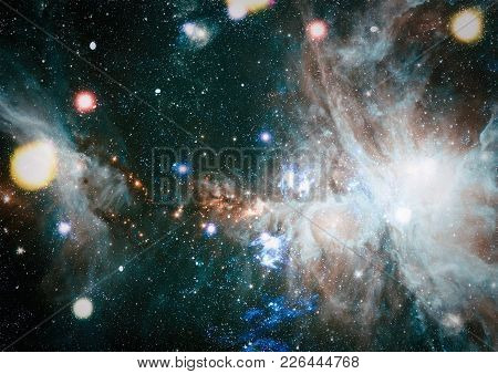 Galaxy - Elements Of This Image Furnished By Nasa