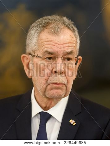 Austrian President Alexander Van Der Bellen