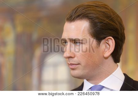 Federal Chancellor Of The Republic Of Austria Sebastian Kurz