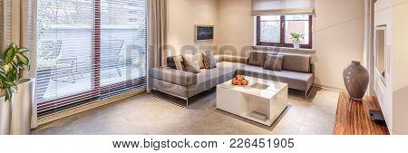 Monochromatic Apartment Interior