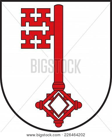 Coat Of Arms Of Soest Is A City In North Rhine-westphalia, Germany. Vector Illustration