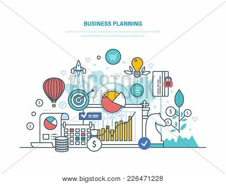 Business Planning. Performance Evaluation, Organization, Workflow Control, Risk Assessment, Project