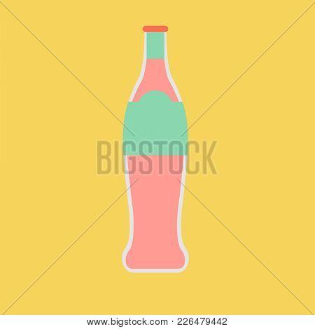 Illustration of soda drink bottle