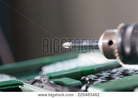 Closed Up Of Screw Driver And Other Tool, Construction Concept.