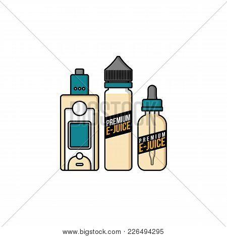 Personal Vaporizer E-cigarette E-juice Liquid Plastic Bottle