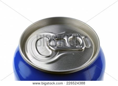 A Can Of Beer Or Drink Close Up.
