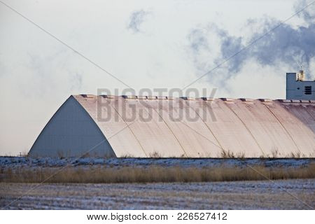 Potash Mine Saskatchewan
