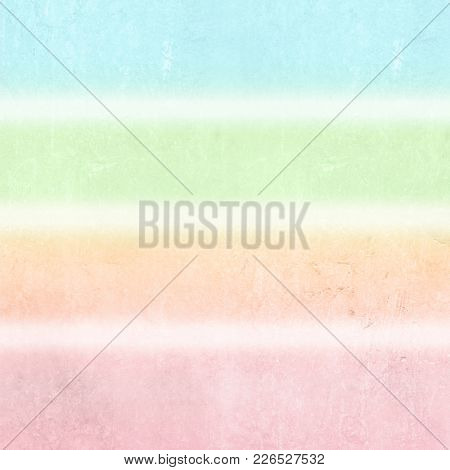 Pastel background stripes in soft pale watercolor