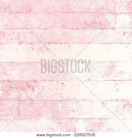 Pink wood background in pastel paint