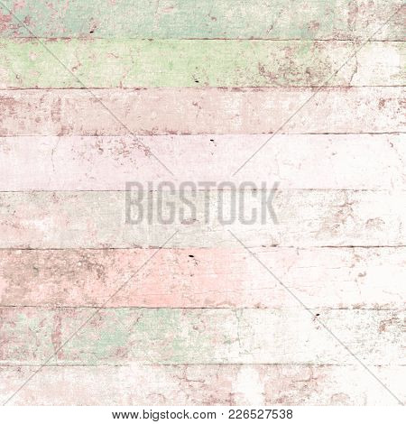 Wood background with pastel painted planks