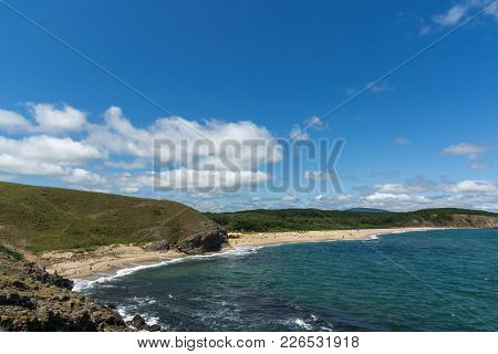 A Beach At The Mouth Of The Veleka River, Sinemorets Village, Burgas Region, Bulgaria
