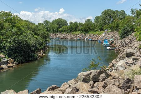 Amazing Landscape Of Rezovo River On The Border Between Bulgaria And Turkey