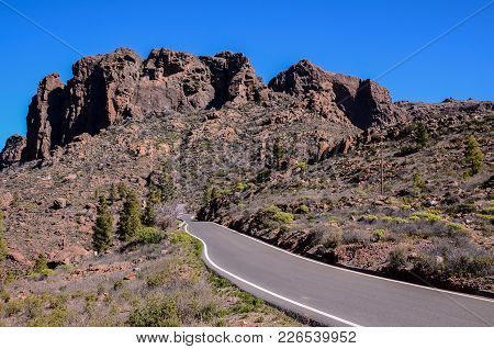 Big Valley In Gran Canaria, Canary Islands, Spain