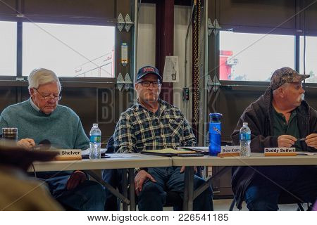 Contentious Meeting On 02-13-2018 In Small Rural Town Of Julian In San Diego County, Julian Voluntee